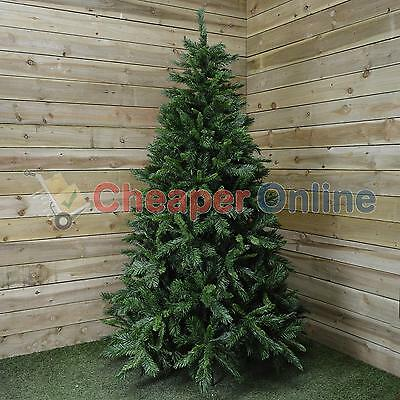 6ft, 7ft or 7.5ft Snowtime Luxury Kateson Fir Christmas Tree in Green