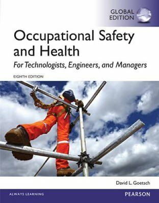 Occupational Safety and Health for Technologists, Engineers, an... 9781292061993