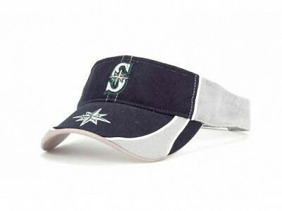 official photos d7506 d7afc Seattle Mariners Oxbow MLB Visor Cap Hat Navy Gray Adjustable Baseball  Twins  47
