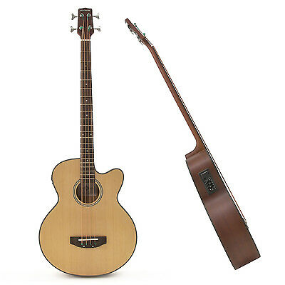 New Electro Acoustic Bass Guitar by Gear4music