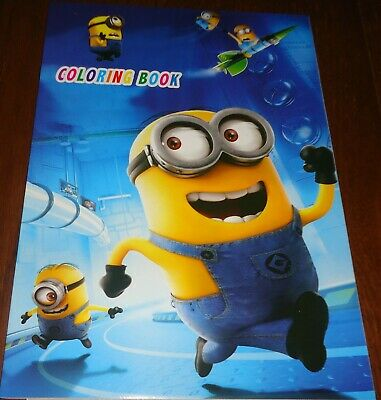 Minions 16 PAGE COLORING BOOK WITH STICKERS (BRAND NEW)