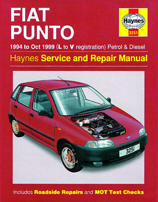 Haynes Workshop Repair Manual Fiat Punto (07 - 14)