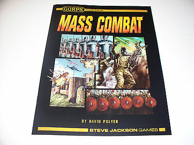GURPS Mass Combat (4th Edition) - Steve Jackson Games - Great Shape