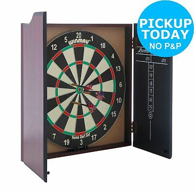 Winmau Dartboard, Cabinet and Darts. From the Official Argos Shop on ebay