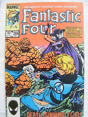 Fantastic Four # 266 May 1984 Marvel Comics John Byrne
