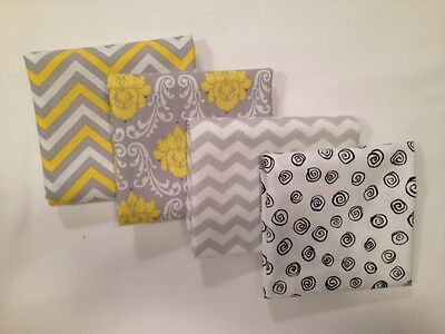 "GRAYS 12"" x 16"" Infant or Travel Pillowcase 100% Cotton NWT FREE SHIPPING!"