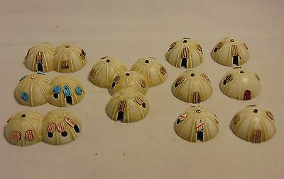 1/300 6mm scale sci-fi Desert huts X10 Daemonscape suitable for X wing