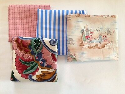 "12"" x 16"" Infant or Travel Pillowcase 100% Cotton NWT FREE SHIPPING!"
