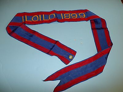 st315 Philippine Insurrection US Army Flag Streamer ILOILO 1899