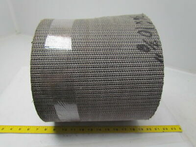 "1 ply black interwoven polyester brushed conveyor belt 36ft x 8-1/4"" x 3/16"""