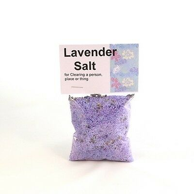 LAVENDER Salt for Charms, Spells, and Rituals!