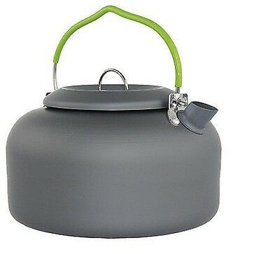 Yellowstone 1.4 Litre Graphite Aluminium Lightweight Camping Kettle