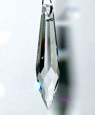 Sun catcher Hanging Crystal Feng Shui Rainbow Prism (full lead) 76x17mm Icicle