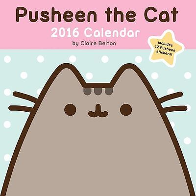 Pusheen the Cat 2016 Wall Calendar By Claire Belton