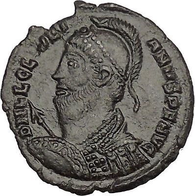 JULIAN II the APOSTATE 361AD Ancient Roman Coin Wreath  of success i53002