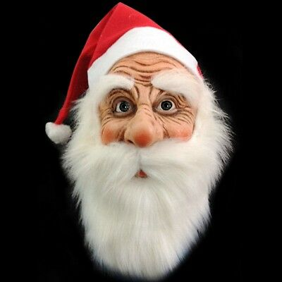 Halloween Face Mask Santa Claus Adult Masquerade Costume Party Full Mask New