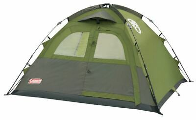 .Coleman Instant 3 Man Tent Camping Pitch Dome Easy Hiking Festival Fishing