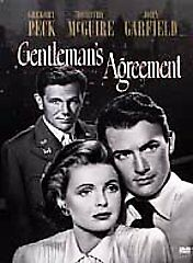 Gentleman's Agreement (DVD, 1999) New
