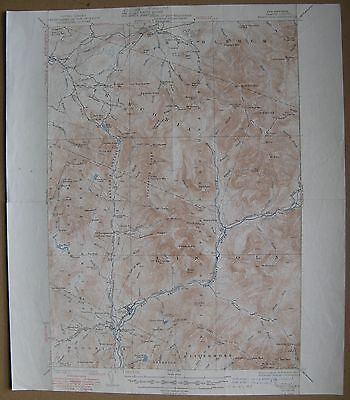 1948 FRANCONIA NH QUAD Geological Survey Map 16x20 (Lincoln, White Mountains +)