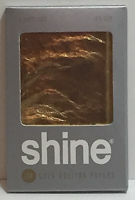 Shine 24K Gold Rolling papers 2-Sheet pack