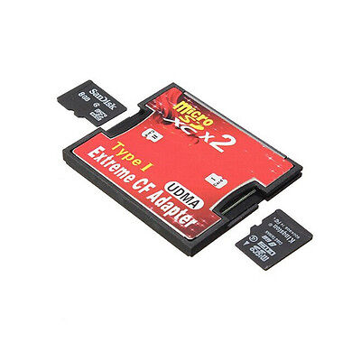 2 Port Mikro-Sd TF SDHC, um Typ-I-1 Compact Flash Card Reader CF Adapter