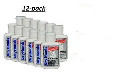 DRY HANDS 1 oz. (12 Pack) Sport Grip Powder for Baseball, Golf, Pole Dancing