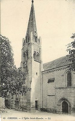 37 CHINON l'eglise 27819