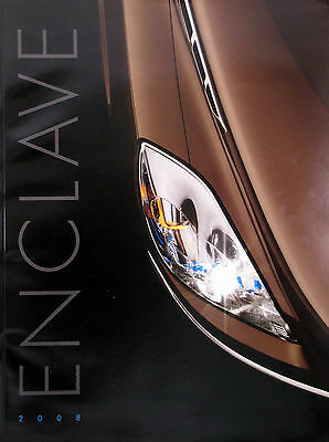 2008 Buick Enclave crossover OVERSIZED new vehicle brochure