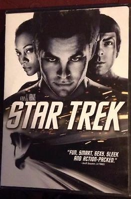STAR TREK - COLOR DVD 2009 SCI-FI Fantasy Movie Film - Like New Special Features