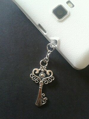 Fancy Key Dangle Charm For Mobile Phone. Tablet. Ipad. Iphone. Dust Plug.