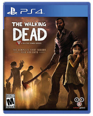 The Walking Dead The Complete First Season PS4 Game Brand New Sealed