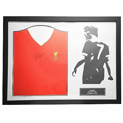 Team Dalglish Signed Shirt Photo Frame Display Sports Accessories