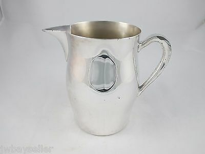 Vintage Silverplate Pitcher ACADEMY Silver on Copper 15 1950s