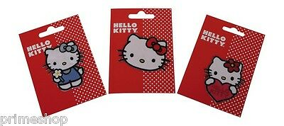 Ferro-su patch Hello Kitty 3 pz Set ca. 5 x 6,5 cm nuovo