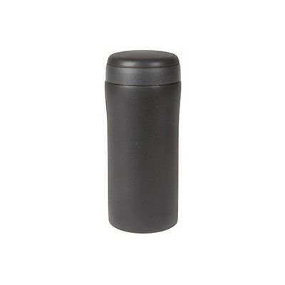 Summit 300ml Thermal Commuter Mug & Lid Stainless Steel Double Walled Black