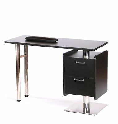 Urbanity chic beauty nail technician station salon manicure polish table desk b