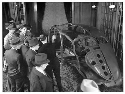 1936 ? Lincoln Zephyr Chassis Factory Photo ua205-4QLAEG