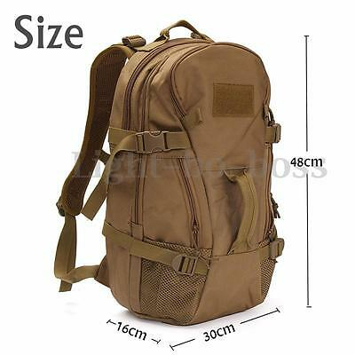 40L Military Tactical Outdoor Mountaineering Backpack Hiking Camping Travel Bag