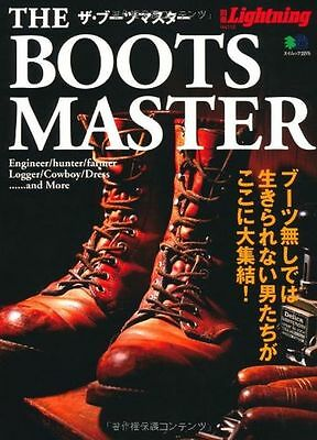 Used The Boots Master Magazine Bible Catalogue Japanese Book from Japan