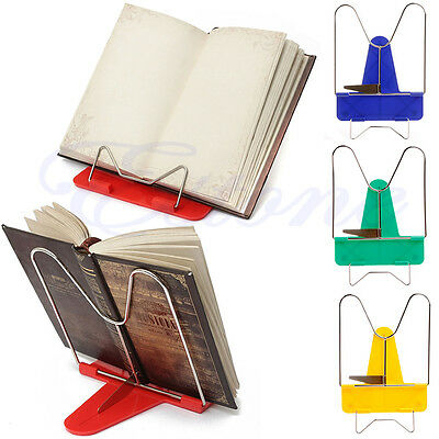 Fashion Foldable Portable Reading Book Stand iPad Document Learning Holder