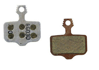 Avid Elixir Disc Brake Pads Organic Compound Aluminium Backplate