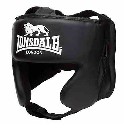 Lonsdale Pro Trai Head Guards Training Helmet Kick Boxing Protection Gear