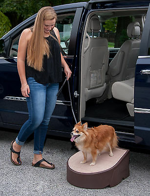 Pet Gear NEW Easy Step Dog / Cat Ramp PG9700CH 175lbs Capacity Indoor/Outdoor