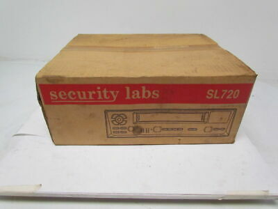 Security Labs SL720 24 HR real time 48 HR Lapse Recorder VHS Format NOS