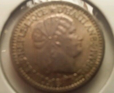 1887 Haiti 10c. Very nice looking coin. Includes Free shipping in US.