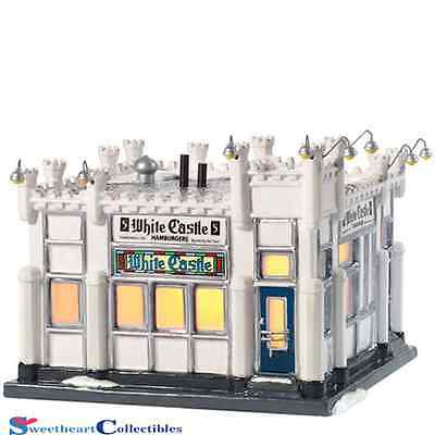 Department 56 Snow Village 805508 White Castle Retired