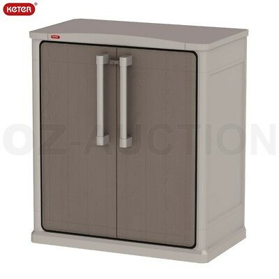 Keter Optima Mini Wonder Outdoor Storage Cabinet