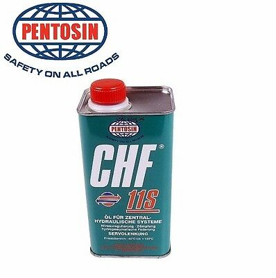 2 CHF11S CONVERTIBLE Top Hydraulic Pump Oil Fluid for Saab 9