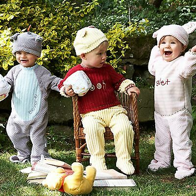 *disney Baby Grow Vintage Romper Toddler Boys Girls Fancy Dress Outfit Costume*