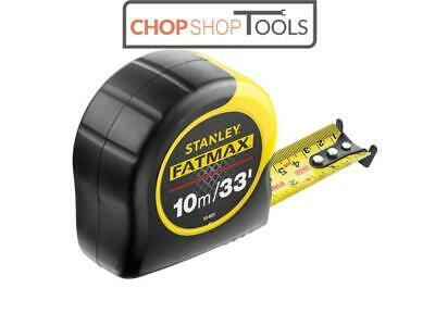 Stanley Fatmax Tape Measure with Blade Armor 10m/ 33Ft 0-33-805 STA033805